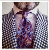 Mixing bold patterns @tweedandties