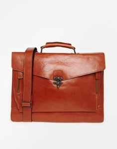 Royal RepubliQ Tan Satchel. Source: Asos